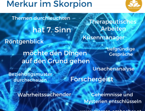 Astrologie: Merkur im Skorpion – ab 27. Sep 2020