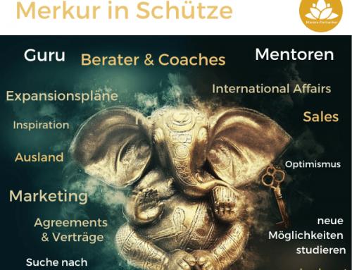Astrologie: Merkur im Schützen – ab 01. Dez 2020