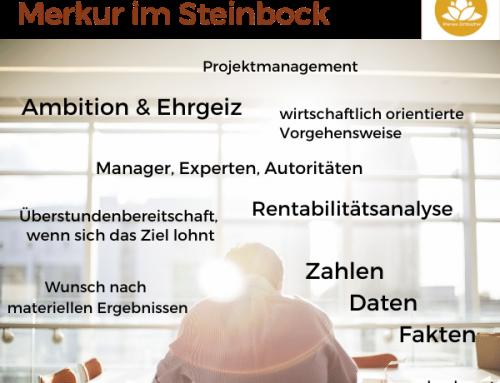 Astrologie: Merkur im Steinbock – ab 21.12.2020