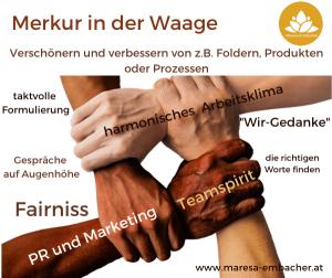 Merkur im Waage - Maresa Embacher
