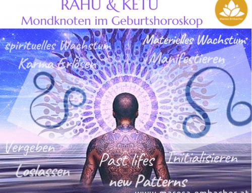 Die Mondknoten Rahu & Ketu im Geburtshoroskop
