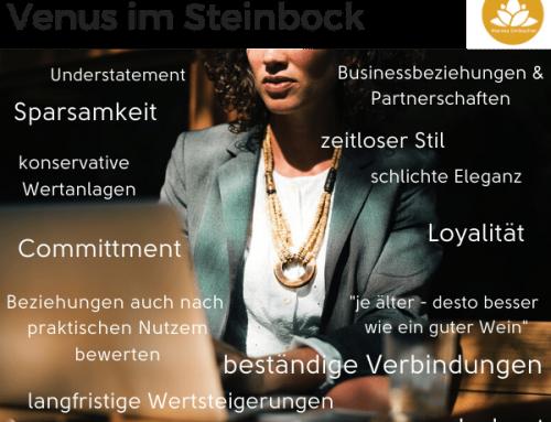Astrologie: Venus im Steinbock – ab 08. Jan 2021