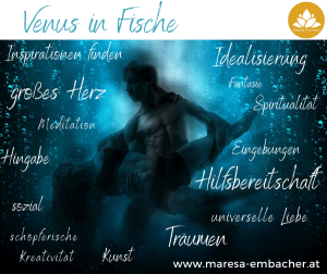 Venus in Fische - Maresa Embacher