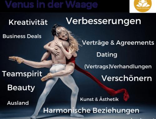Astrologie: Venus in der Waage – ab dem 28. Okt 2020