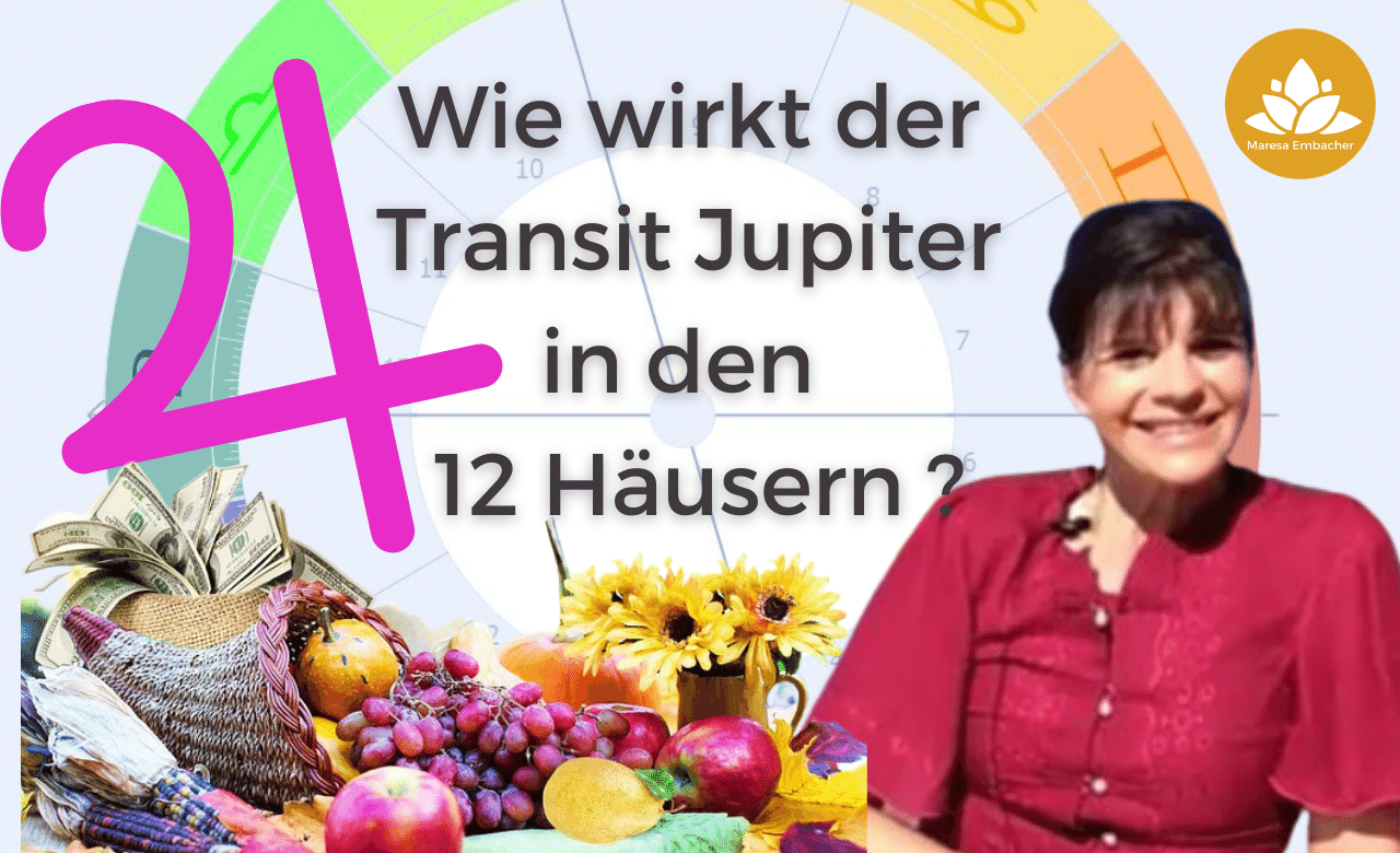 Jupiter in den 12 Häusern