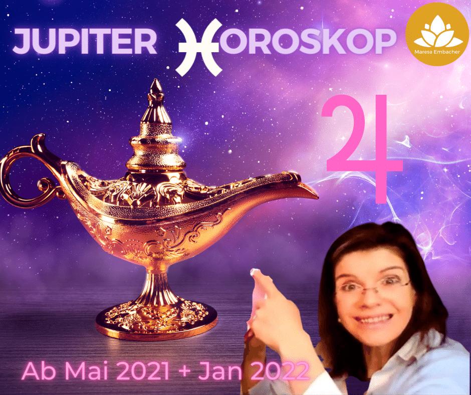 Jupiter in Fische 2021 und 2022 Maresa Embacher
