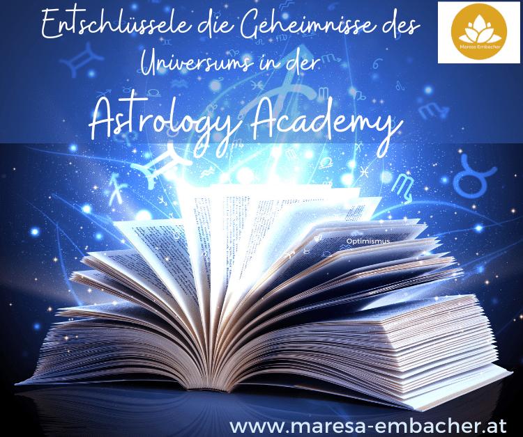 Astrology Academy - Maresa Embacher